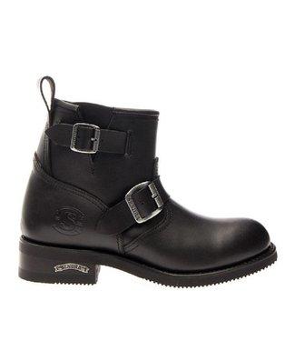 Sendra Sendra motor enkel boots dames zwart
