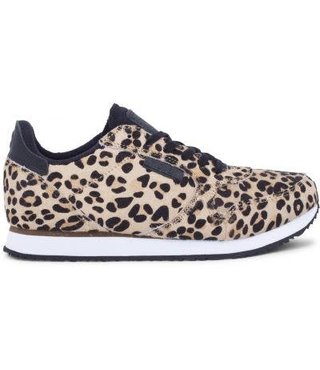 Woden Ydun 11 leopard dames sneaker