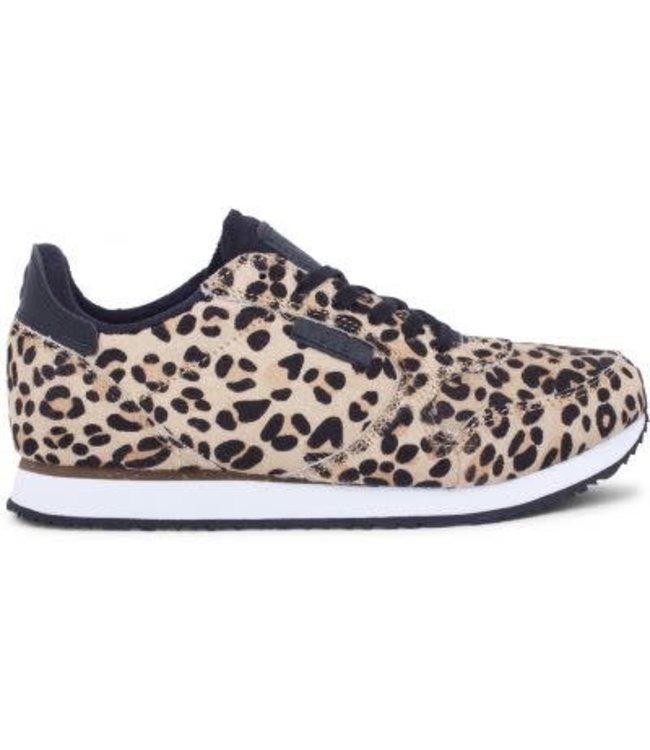 Woden Woden Ydun 11 leopard dames sneaker
