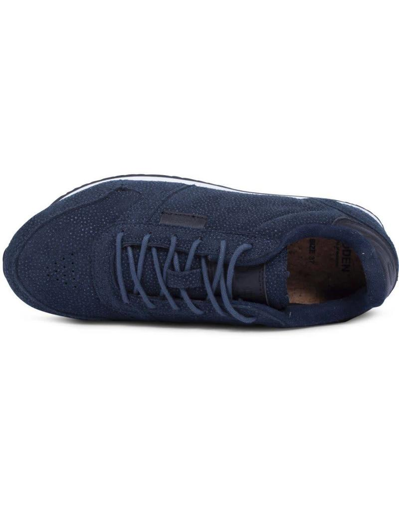 Woden Woden Ydun pearl dames sneaker blauw