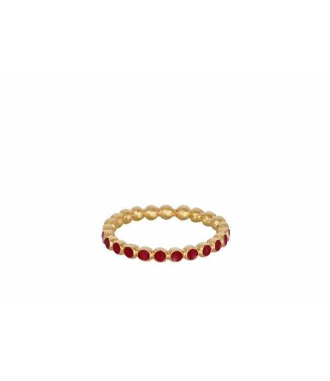Pernille Corydon Pernille Corydon dames goud vergulde ring