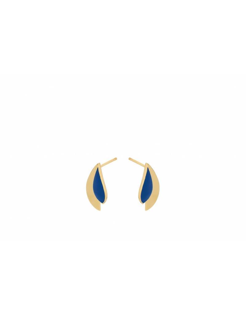 Pernille Corydon Raindrop Blue Earsticks