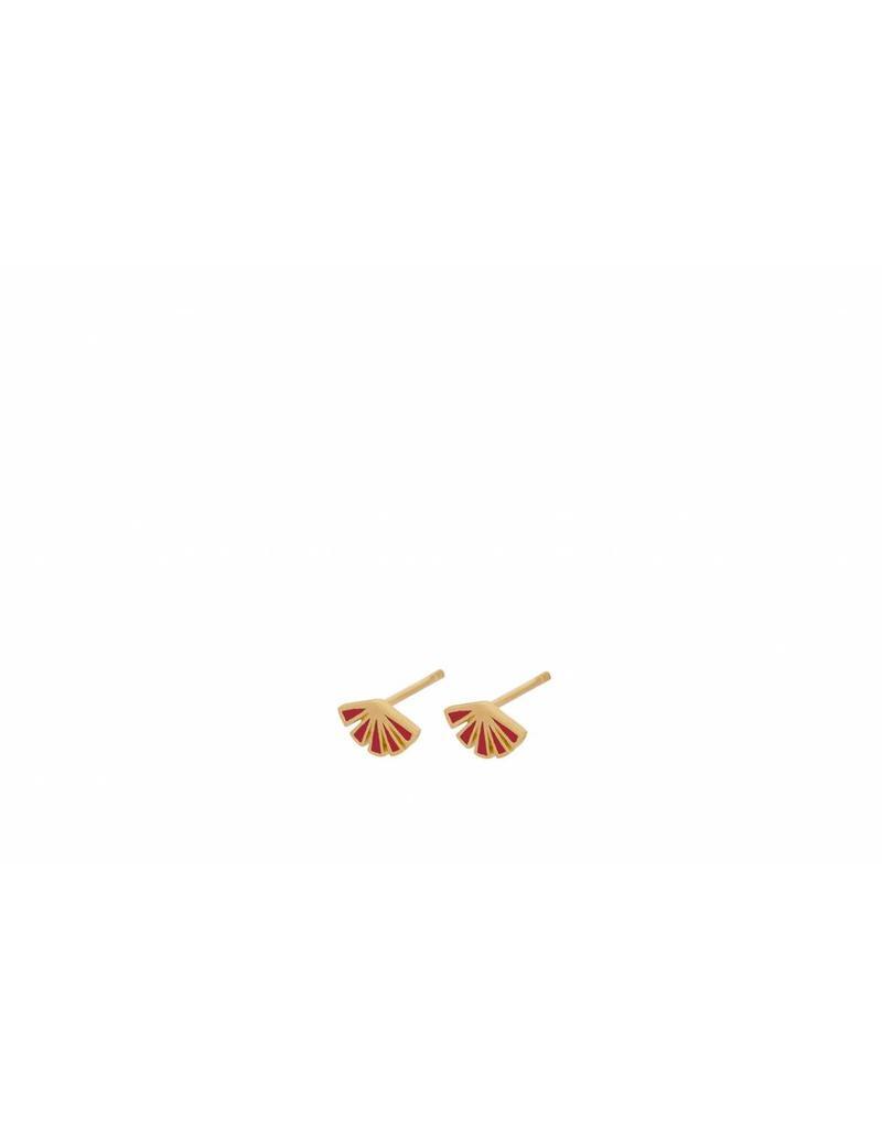 Pernille Corydon Flare Red Earsticks