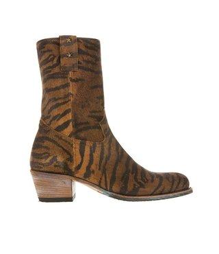 Sendra dames western tijger print
