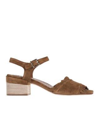 Pedro Miralles dames bruin suède dames sandaal
