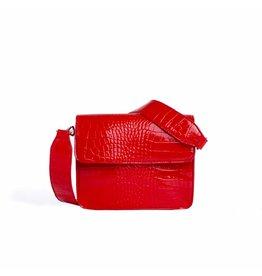 HVISK HVISK Cayman Shiny Strap damestas rood