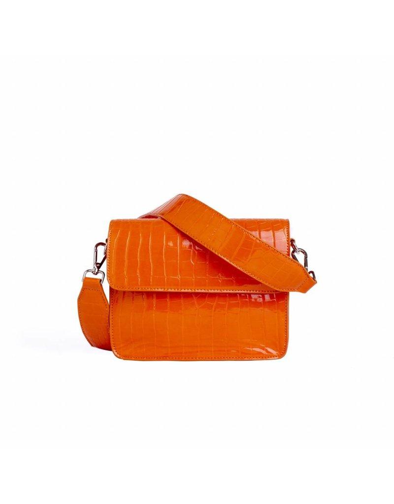 HVISK HVISK oranje dames schoudertas