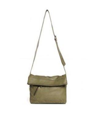 Sticks and Stones City Bag damestas groen