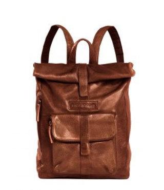 Sticks and Stones Messenger backpack damestas bruin