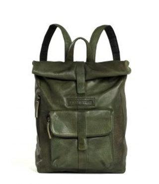 Sticks and Stones Messenger backpack damestas groen