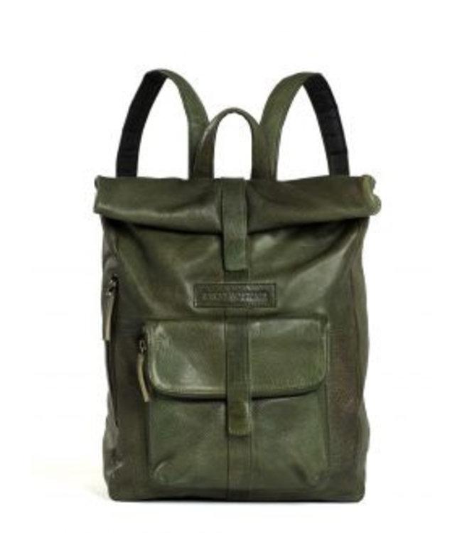 Sticks and Stones Sticks and Stones Messenger backpack damestas groen