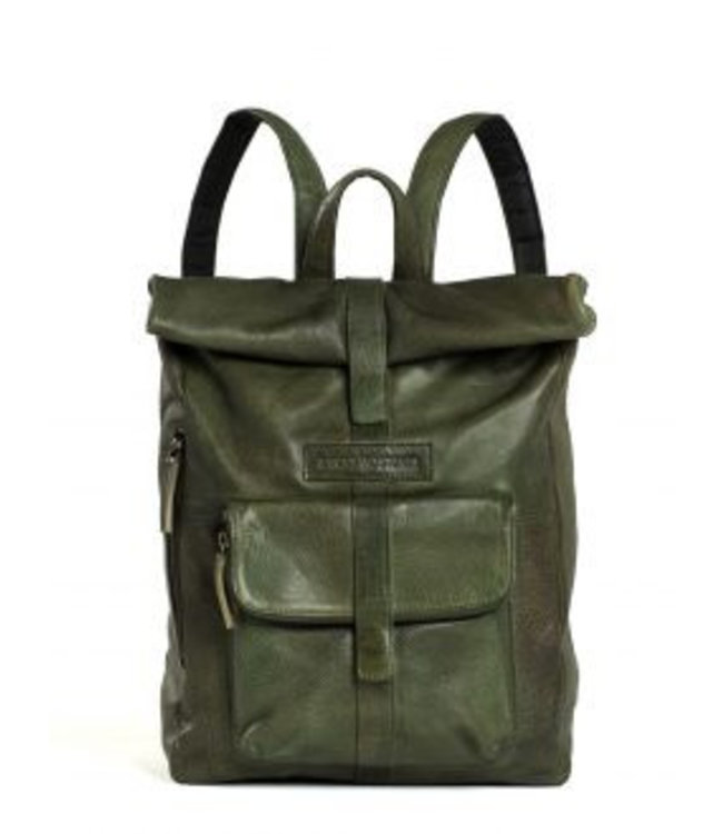 Sticks and Stones Sticks and Stones Messenger lady's backpack green