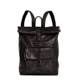 Sticks and Stones Sticks and Stones Messenger backpack damestas zwart