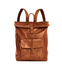 Sticks and Stones Sticks and Stones Messenger backpack damestas cognac