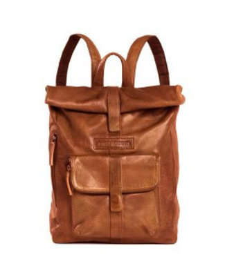 Sticks and Stones Sticks and Stones Messenger lady's backpack cognac
