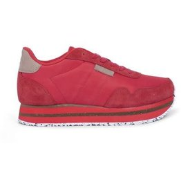 Woden Woden Nora 11 plateau sneakers rood