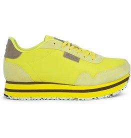 Woden Woden Nora 11 plateau sneakers geel
