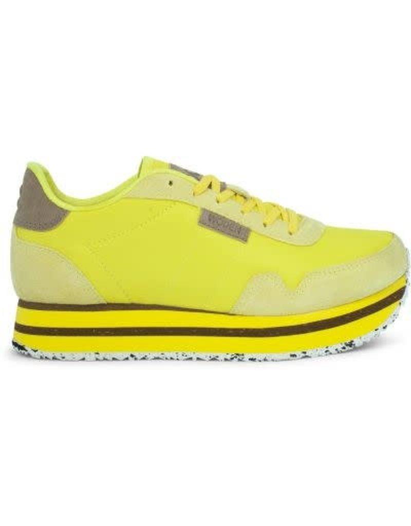 e6e576650bb Dames sneakers Woden Nora 11 plateau geel - Squarefeet.nl