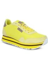 Woden Woden Nora 11 plateau dames sneakers geel