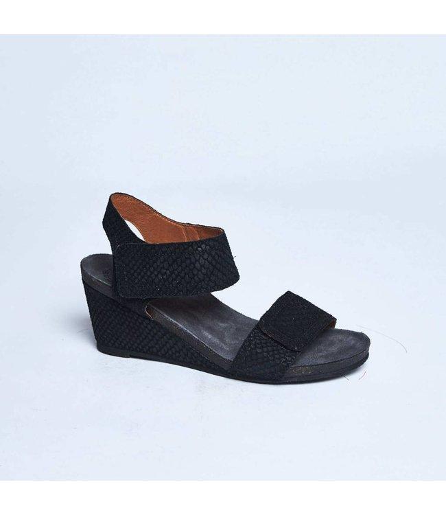 Ca Shott Ca Shott ladies sandal black serpente