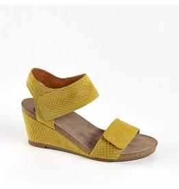 Ca Shott Ca Shott dames sandaal serpente geel