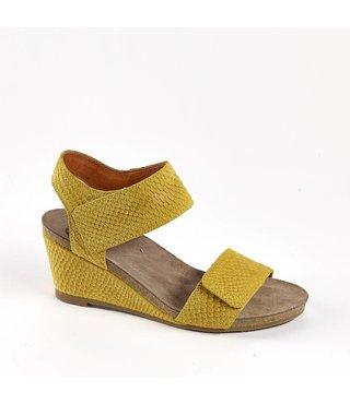 Ca Shott dames sandaal serpente geel