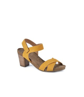 Ca Shott dames hak sandaal geel