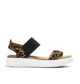 Unisa Unisa sandaal Bridni luipaard