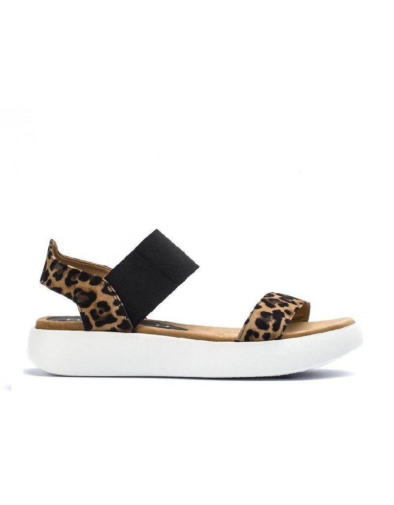 Unisa Unisa sandaal Bridni luipaard print