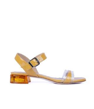 Unisa sandaal Donova geel