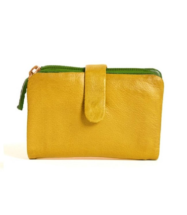 Sticks and Stones Sticks and Stones Laguna Yellow Wallet
