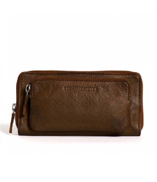 Stick and Stones California Wallet Cognac