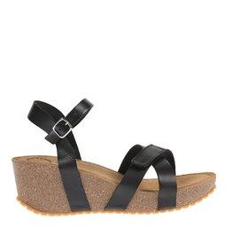 Ca Shott Ca Shott dames plateau sandaal zwart