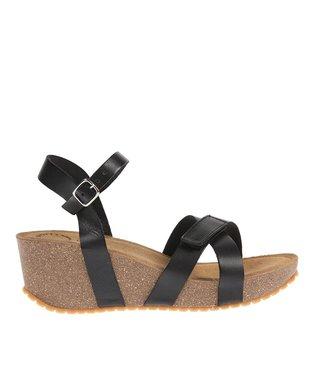Ca Shott dames plateau sandaal zwart
