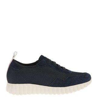 Pedro Miralles dames sneakers blauw suède