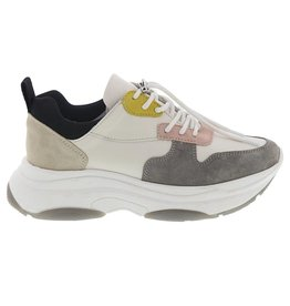 Lazamani Lazamani dames sneaker wit multi