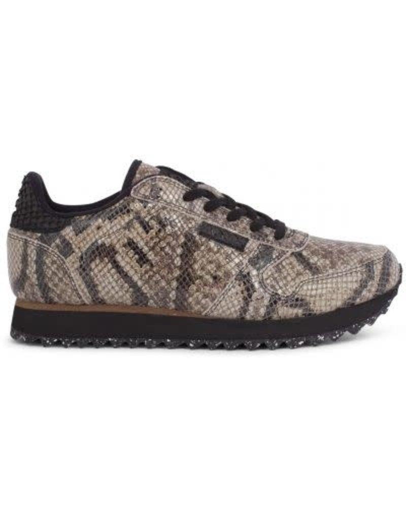 3f3d5e00ce0 Dames sneaker Woden Ydun snake brown - Squarefeet.nl