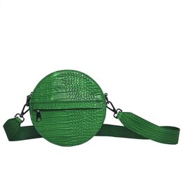 HVISK HVISK Circle groene dames schoudertas
