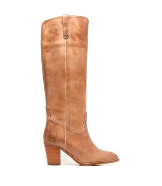 Dico Dico ladies long light brown leather boot