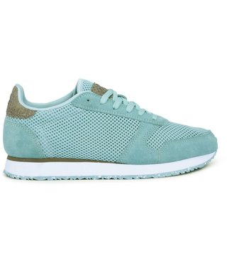 Woden Ydun mesh nsc dames sneaker groen