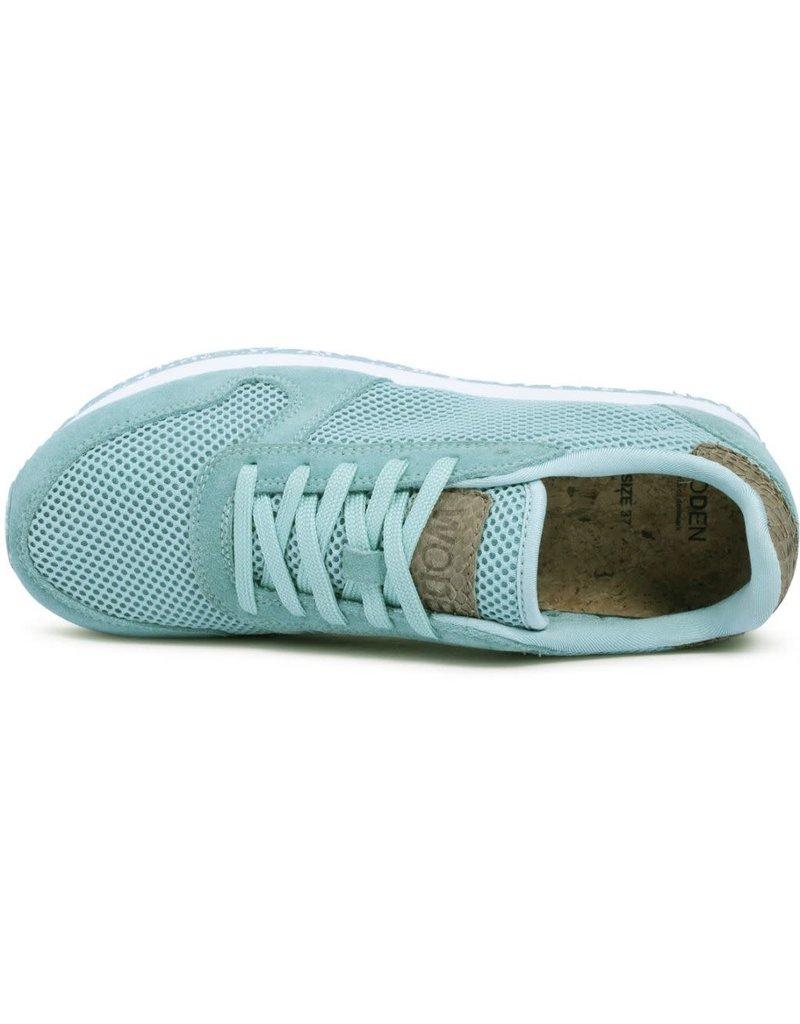 Woden Woden Ydun mesh nsc dames sneaker groen