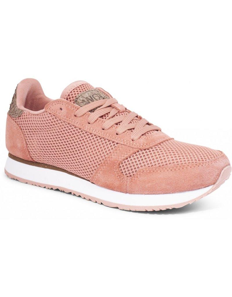 Woden Woden Ydun mesh nsc dames sneaker roze