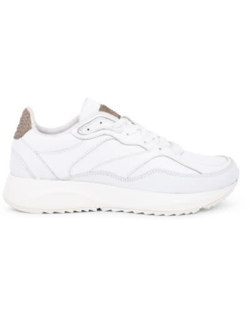 19dcc80c0b6 Woden Woden Sophie bright white leather dames sneaker ...