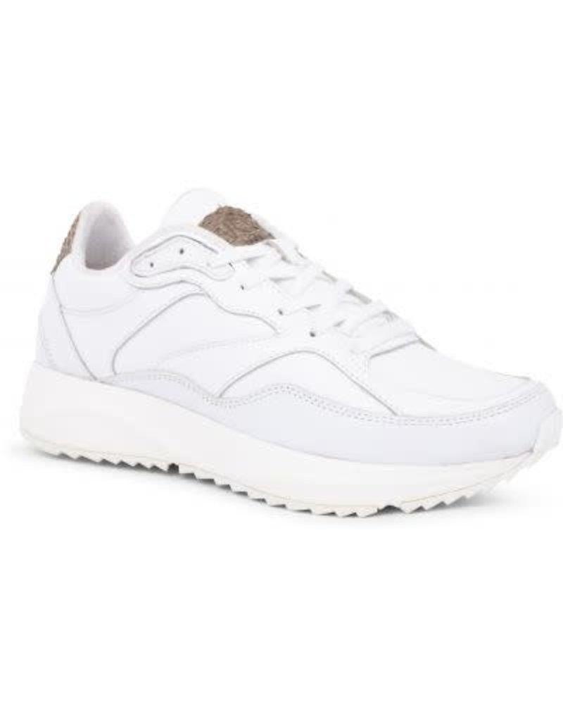 9331f566165 ... Woden Woden Sophie bright white leather dames sneaker ...