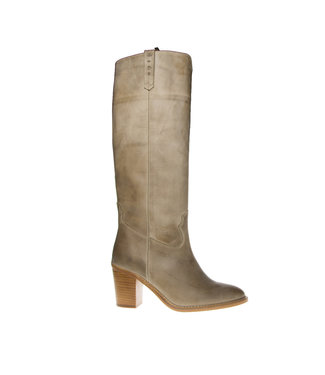 Dico Dico ladies long boots taupe leather