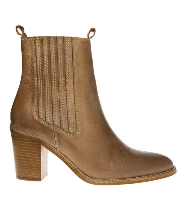 Dico Dico ladies ankle boot light brown leather