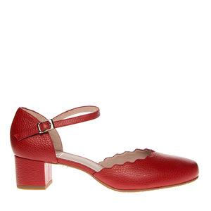 Verbazingwekkend Pumps Square Feet D2739 rood leer | Squarefeet.nl UP-25