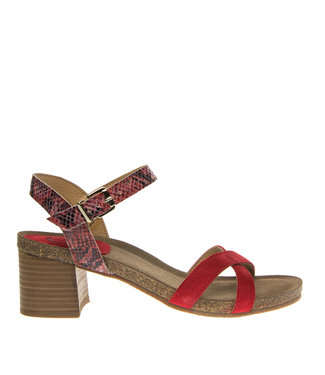 Ca Shott Ca Shott ladies heel sandal red