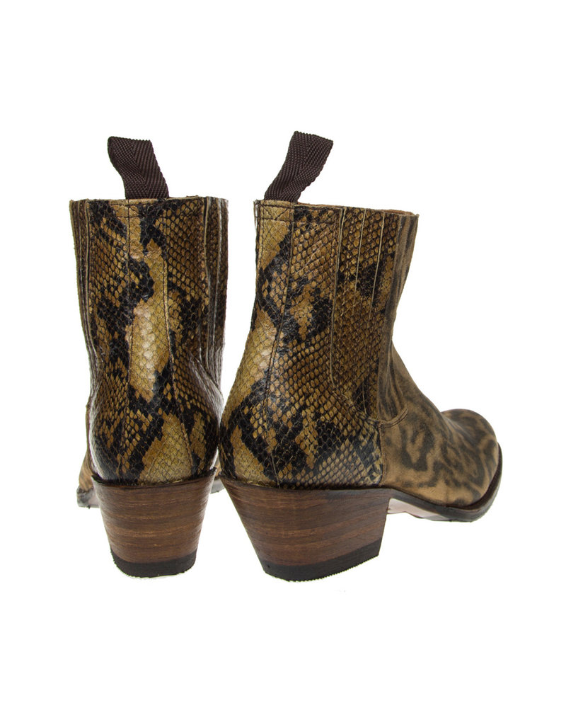 Sendra Sendra Debora chelsea boots  lynx/slang print