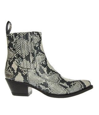 Sendra dames chelsea boots imitatie slang